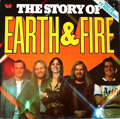 # Earth and Fire THE STORY OF EARTH & FIRE HOLLAND (EX- EX) PROG ROCK LP-S00064