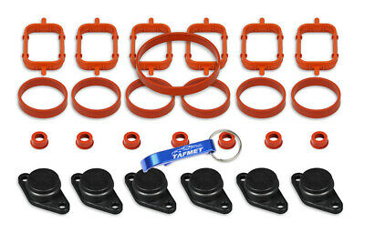 6 x 22 mm Swirl Flap Flaps Removal Blanks Gaskets Backup Ring for BMW M57