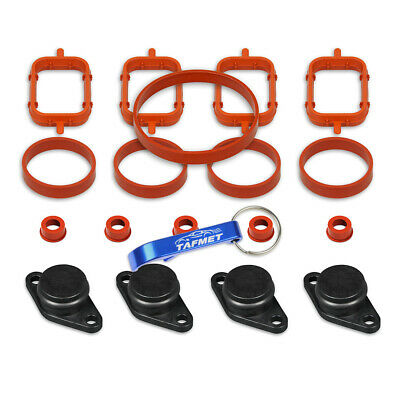 4 x 22 mm Swirl Flap Flaps Replacement Removal Gaskets Backup Ring for BMW M47