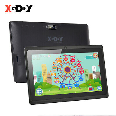 7'' ZOLL XGODY Quad Core Tablet PC Android 4.4 8GB HD Dual Camera Bluetooth WIFI