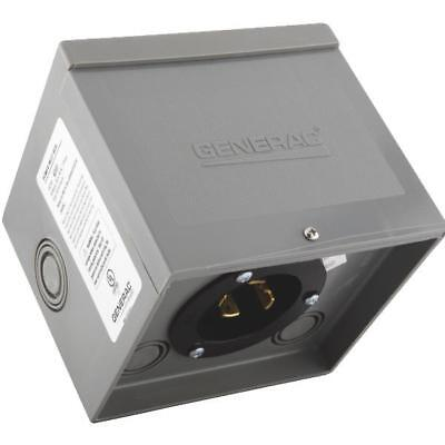 30A Resin PWR Inlet Box,No 6337,  Generac Power Systems, Inc.