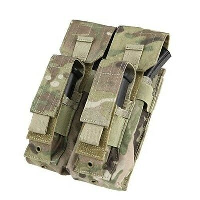 Condor MA71 MULTICAM Double 7.62mm Rifle & Pistol Kangaroo Mag Pouch MOLLE