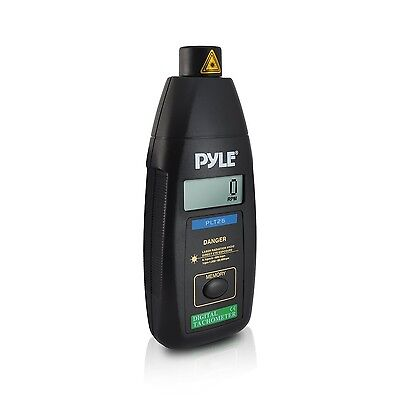 PYLE-METERS PLT26 Digital Non Contact Laser Tachometer with LCD Display 99999...