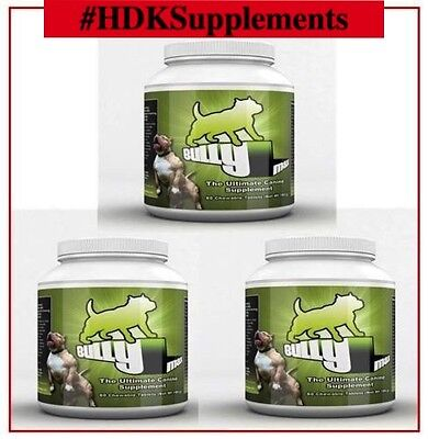 Bully Max Muscle Builder 6 Month Supply (180Ct.)**authorized Seller**