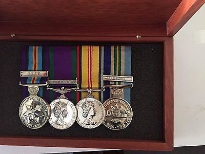 Australian Jarrah  Medal Boxes to  keep your medals safe Limited time