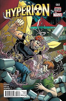 Hyperion #3 (2016) 1St Printing Bagged & Boarded Marvel Comics