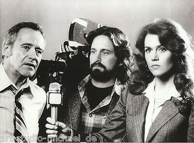 "ORIGINAL Pressefoto: Michael Douglas -Jack Lemmon -Jane Fonda - ""China-Syndrom"""