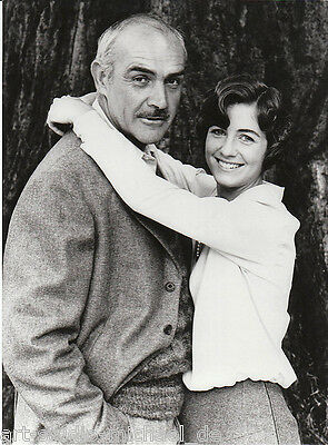 "ORIGINAL Pressefoto - Sean Connery - Betsy Brantley - ""Am Randes des Abgrunds"""