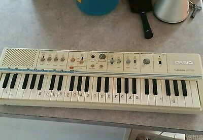 Rare Vintage Casio Casiotone Mt-45 Mt 45 Electronic Keyboard Full Working Order