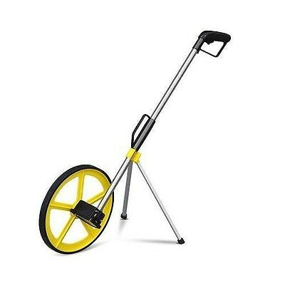 Distance Measuring Wheel With Stand 318Mm Foldable In Bag Surveyors Road Land