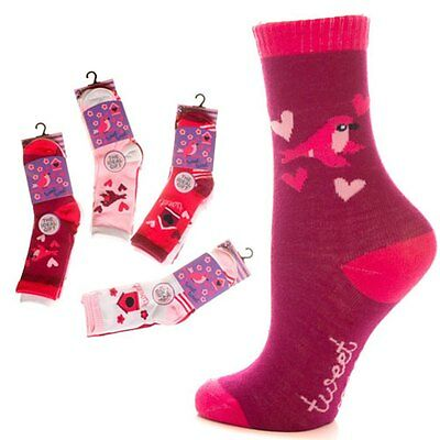*** END OF LINE SALE***    3 Pair Pack Girls TWEET TWEET Ankle Socks
