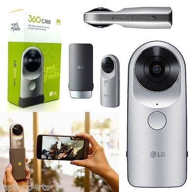 Genuine LG 360 CAM LG-R105 Compact Spherical Camera 16MP For LG G5 Silver New