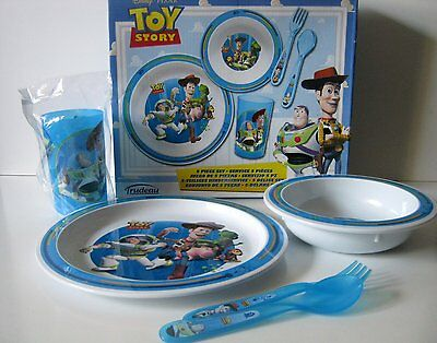 Disney's Toy Story Childrens 5 Plastic Dinner Set