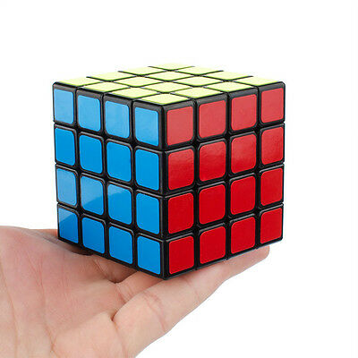 Boy Child Magic Ultra-smooth Speed Cube 4X4X4 Puzzle Twist Kids Toy Gift