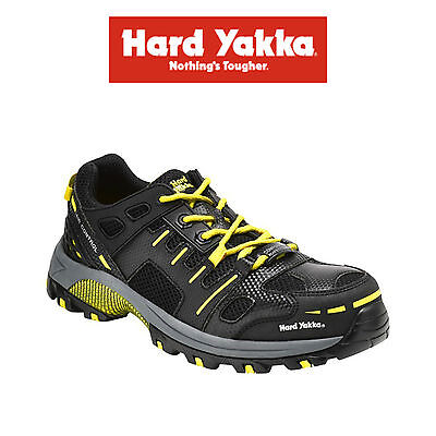Mens Hard Yakka Avalanche Safety Shoe Jogger Work Composite Toe Support Y60110