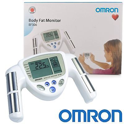 Omron BF306 Home Hand Held Body Composition BMI Fat Fitness Monitor Measurements