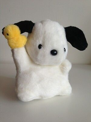 Vintage 1989 Sanrio Pochacco Wire Ear Plush Doll Toy,Japan Made, New,Hello Kitty