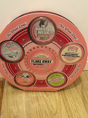 Soap and Glory THE WHEEL DEAL 6 x Body Polish, Butter & Buttercream Giftset