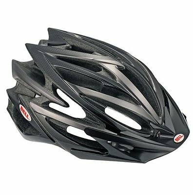 CASCO BELL VOLT colore  BLACK CARBON bike helmet