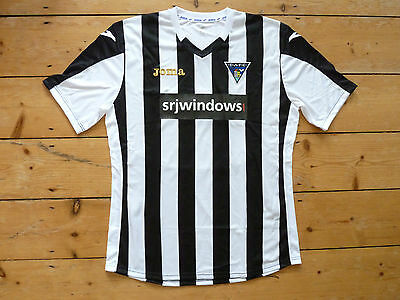 DUNFERMLINE ATHLETIC FC SHIRT (XL) home football top PARS SOCCER JERSEY DAFC
