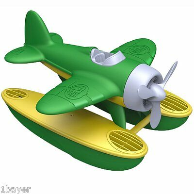 Green Toys Game Child Toddler Party Birthday Gift AirCraft Airplane Seaplane