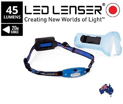Led Lenser H4 3-In-1 Headlamp Flash light Torch Camping Hiking