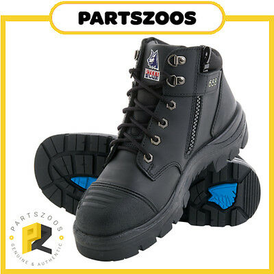 Steel Blue Parkes Zip Work Boots Safety Toe Scuff Cap 312658