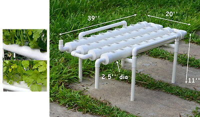 Hydroponic Site Grow Kit Ebb and Flow Deep Water Garden 36 Holes Planting