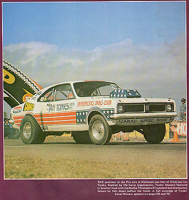 TWIN PACK - AUSTRALIAN DRAG RACING DVD's  Great 70's music FREE POSTAGE