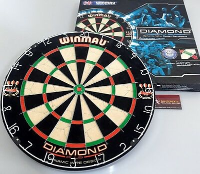 WINMAU Diamond Plus Dart Board Dartboard World's leading dartboard manufacturer