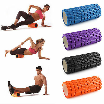 Yoga Foam Roller Textured Grid Beast Roller for Massage Workout Fitness Pilates