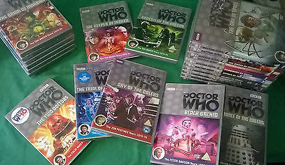New & Used DVDs of Dr Doctor Who - Choose yours! Just £5.25 each. GOOD PRICE!