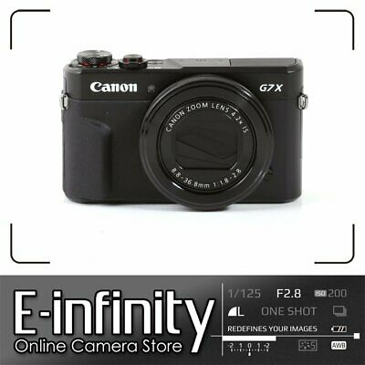 NEW Canon PowerShot G7 X Mark II Digital Camera G7X Mark 2