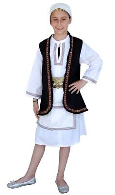 Greek Traditional Costume Souliotissa 2-12 Years old Souliotisa MARK633