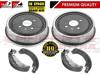 For Vauxhall Astra G 1.4 1.6 1.7 1998-2004 Rear Apec Brake Shoes & Brake Drums