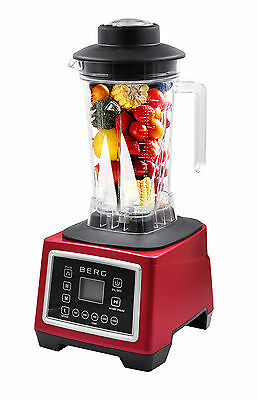 Berg 2200W 3Hp Smart Commercial Food Blender Smoothie Maker Ice Crush Rrp £499