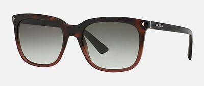 Genuine PRADA PR 12RS Sunglasses Replacement Lenses - Gradient Brownish Grey