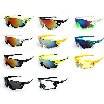 Motorcycle Biker Riding Windproof Sunglasses Sport Safety Goggles Glasses UV400