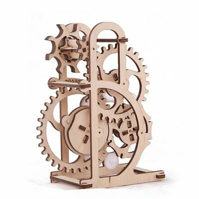 UGEARS DYNAMOMETER Self-Propelled Mechanical Wooden Model Kit 3D Puzzle Toy