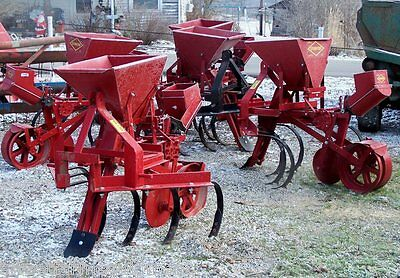 New Covington 1 Row Planter with 3 Point Hitch, CAN SHIP CHEAPER & FASTER