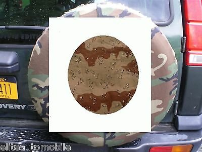Tire Cover 4x4 Desert Camo Military surplus fits land rover jeep Humvee new