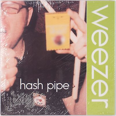 """WEEZER: Hash Pipe SEALED USA 2001 Orig 45 w/ PS Super 7"""" NOS Rare OOP!"""