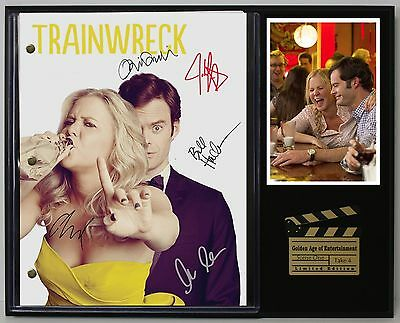 Trainwreck - Reprinted Autograph Movie Script Display - USA Ships Free Priority