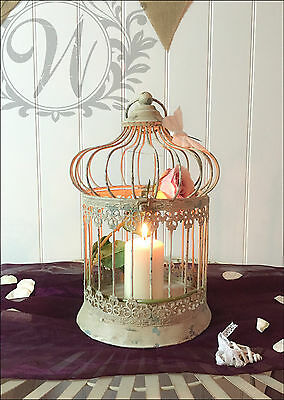 Wedding Decorative Bird Cage Centerpiece Vintage Style Antique Hanging Small