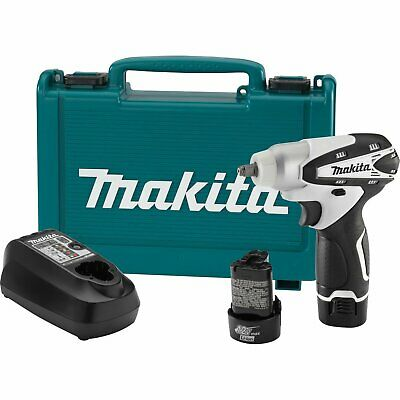 Makita WT01W 12-Volt 3/8-Inch MAX Lithium-Ion Cordless Impact Wrench Kit
