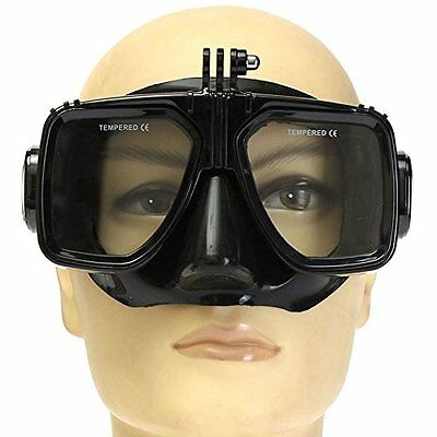 New Mount Diving Mask Scuba Snorkel Swimming Goggles for GoPro HD Hero 2 3 3+ 4
