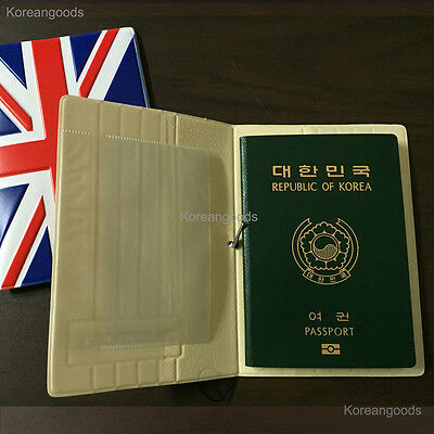 Travel ID Card Passport Holder Ticket Document Protector Cover Case Bag Wallet 2