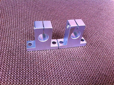 2pcs SK20 Size 20mm CNC Linear Rail Shaft Guide Support New