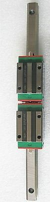 HIWIN 25mm Linear Guide Rail HGR25 L1000mm With 2pcs HGH25CA Guide Blocks #D3092