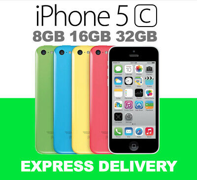 Apple iPhone 5c 8GB 16GB 32GB 4G 5 COLORS 100% Unlocked FROM MELBOURNE USED
